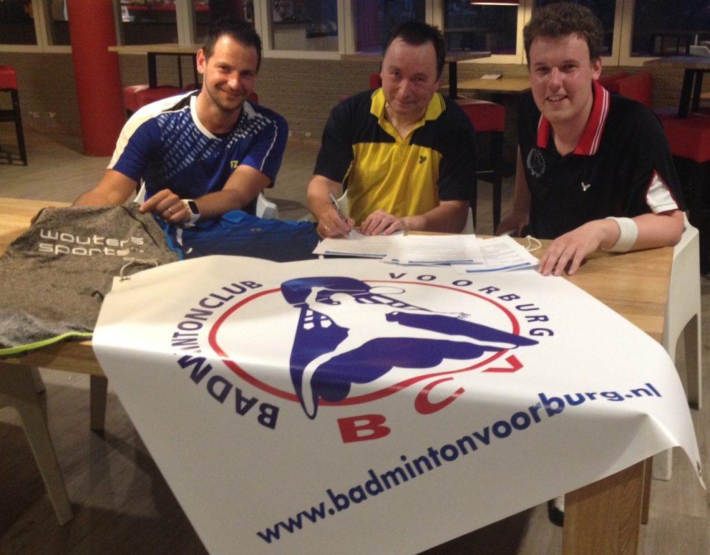 Wouters Sports nieuwe sponsor Badmintonclub Voorburg