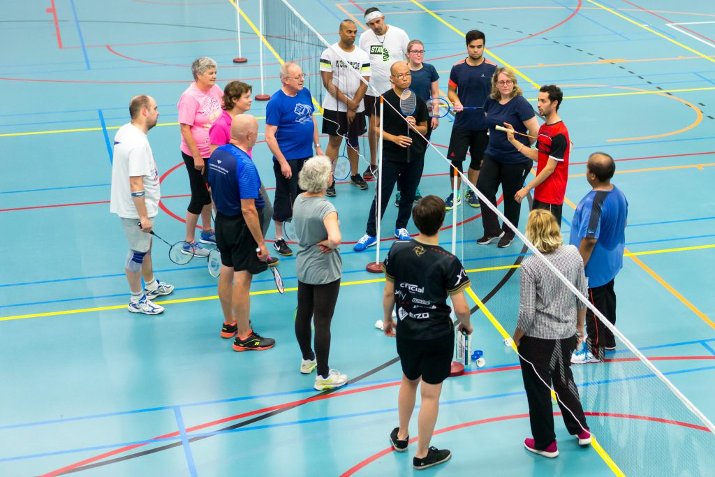 Training Badmintonclub Voorburg